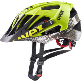 UVEX Quatro Helm dirt neon yellow
